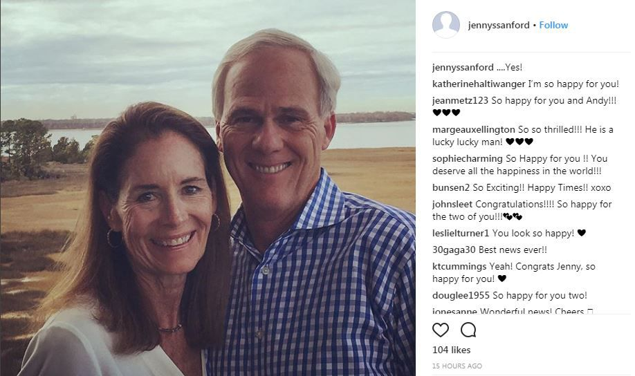 Jenny Sanford engaged (copy)