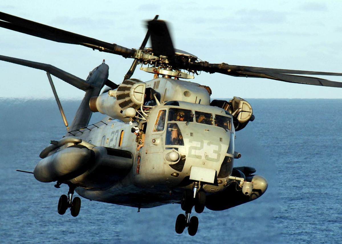 1 Marine killed, 11 hurt in helicopter hard landing