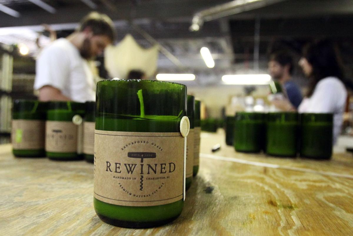 Charleston-based Rewined Candles recognized for export growth