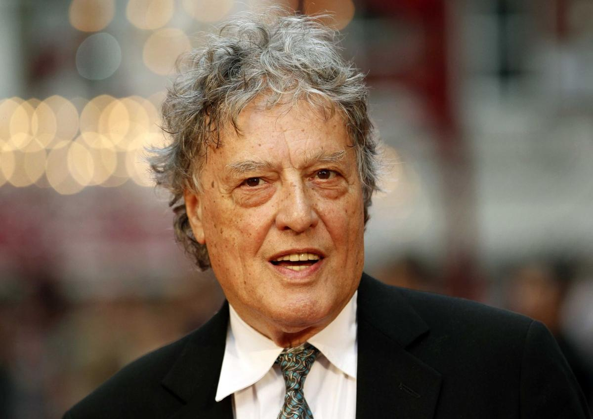 Stoppard calls it a 'frightening time' for free speech