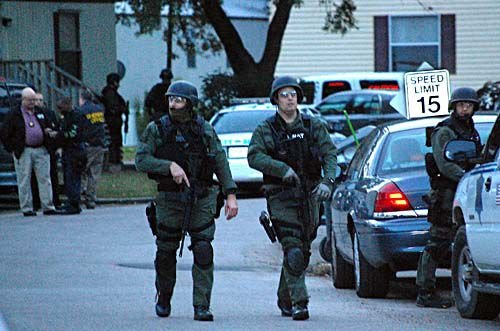 Standoff ends with arrest
