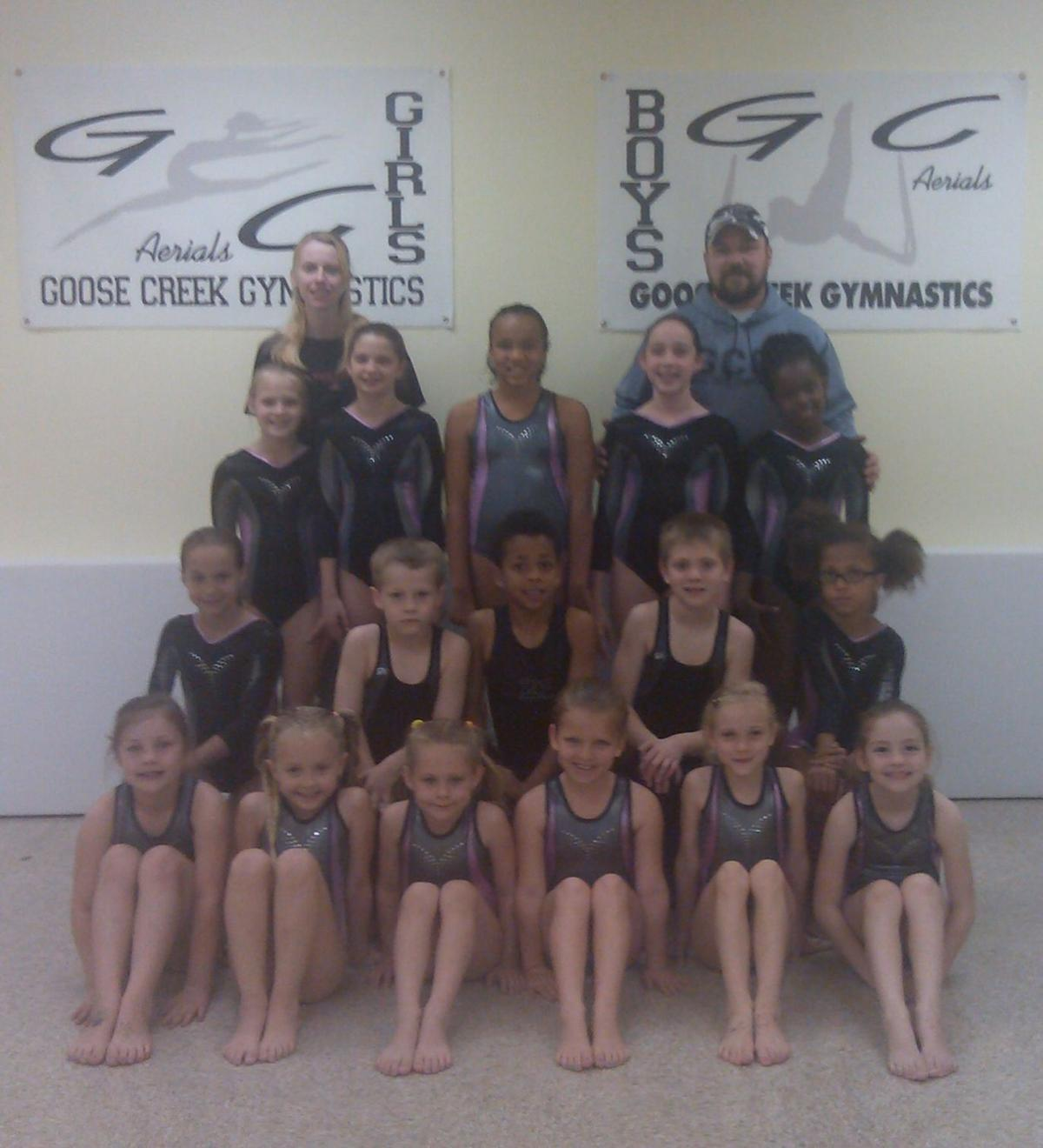 Goose Creek gymnastics program soars at contest