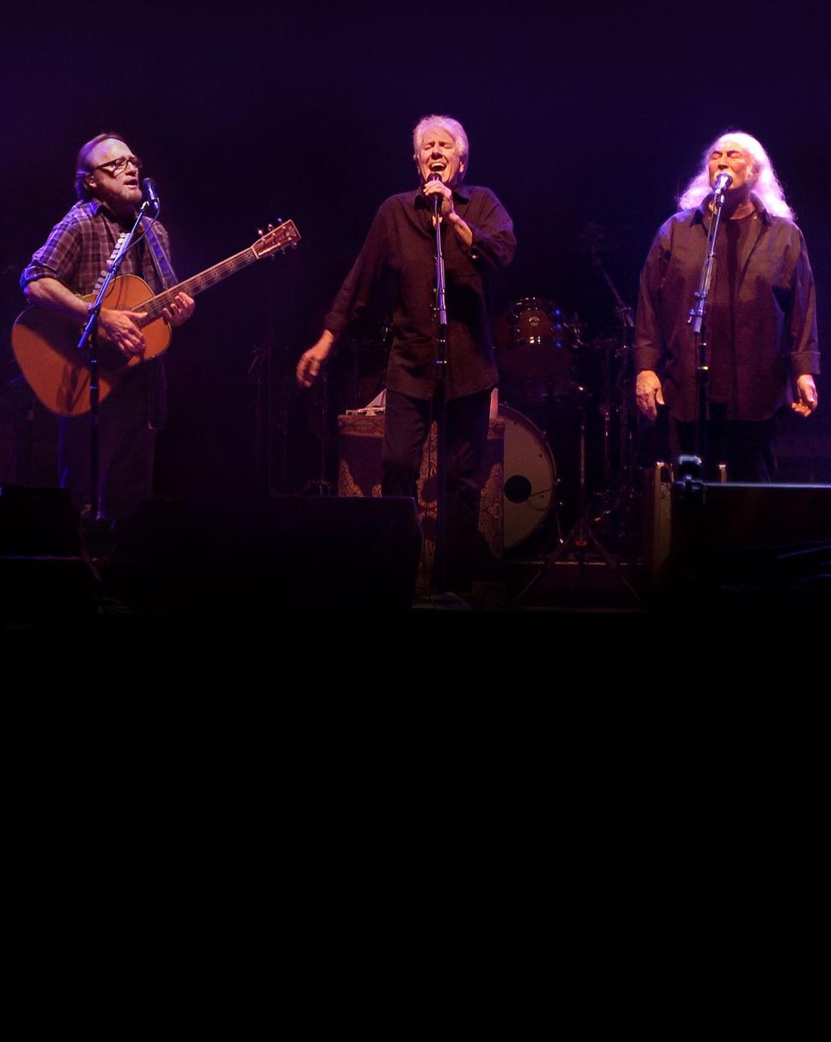 Crosby, Stills & Nash tour as 'three together' with a stop in North Charleston