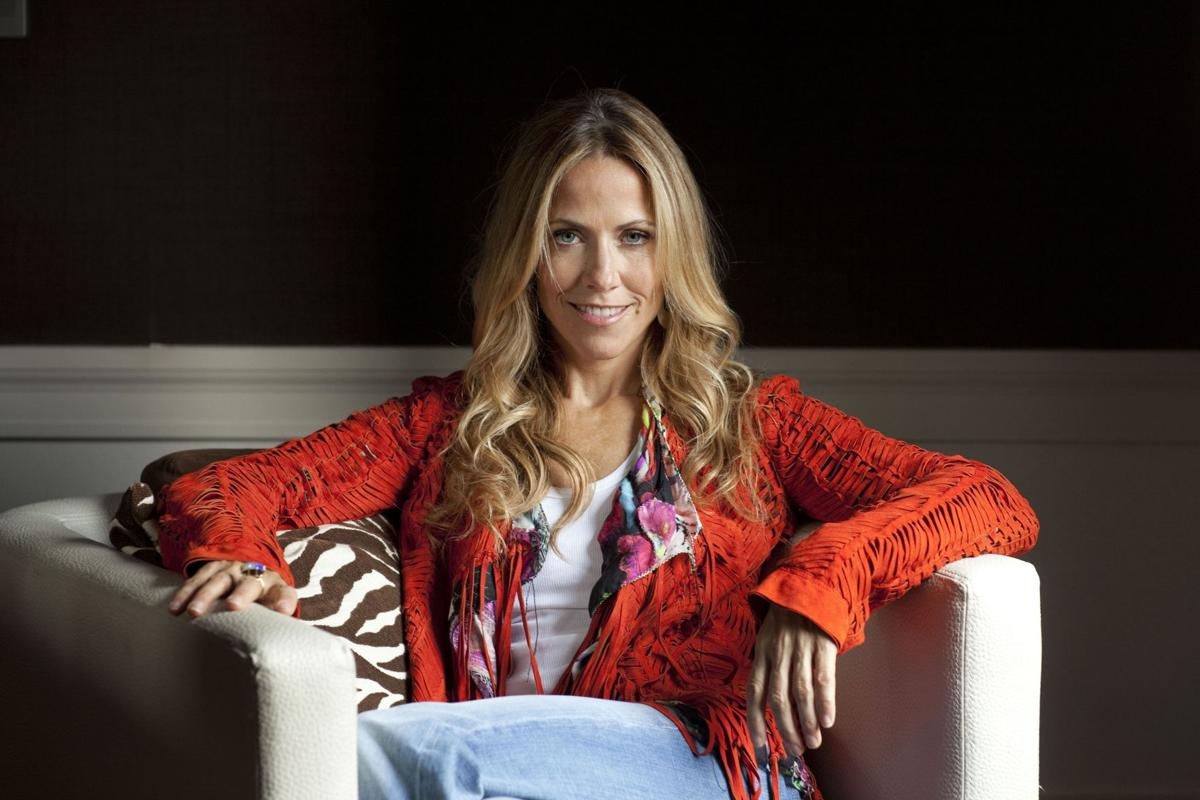 Singer Sheryl Crow has gone country