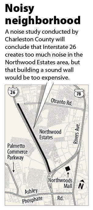 Northwood Estates sound wall is too costly, study finds