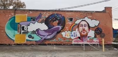 Aaron Graves Tribute Mural