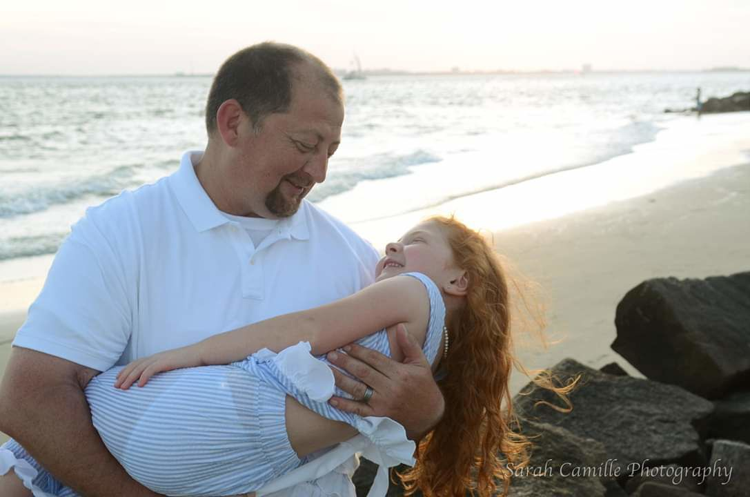 Adelyn Proctor age 7 Summerville,  SC.  Sarah Camille Photography  1st picture is Adelyn and her Daddy..jpeg