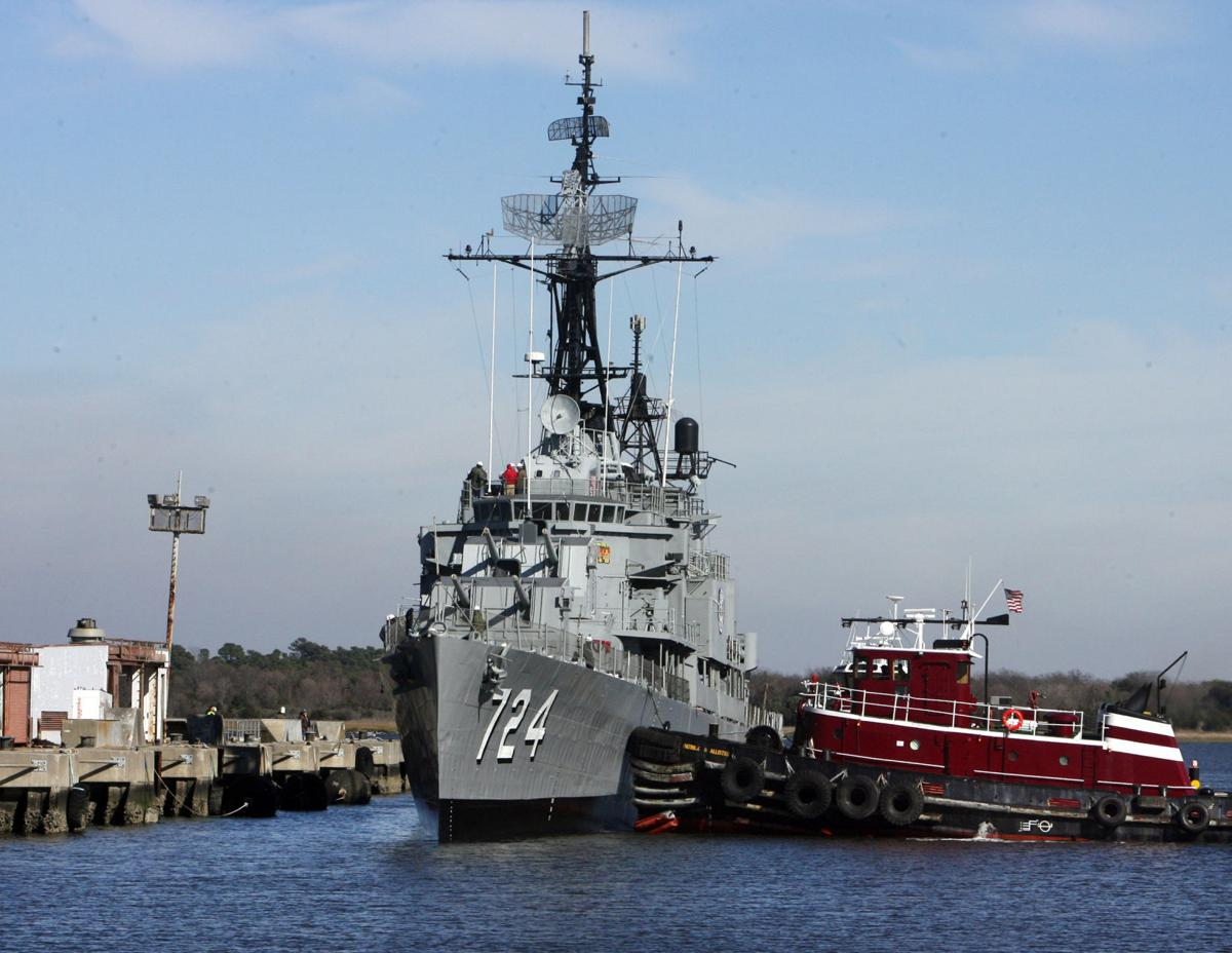Patriots Point lays out plans for destroyer's homecoming celebration