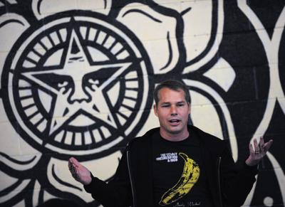 Charleston native and artist Shepard Fairey arrested in Detroit for tagging buildings