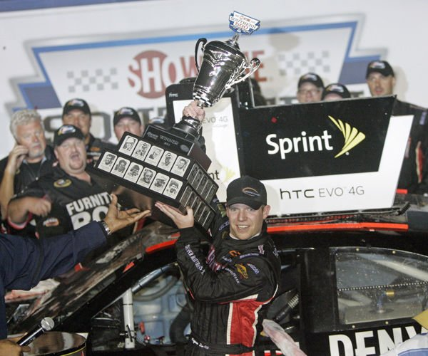 Auto racing - Southern 500: A first for Regan Smith