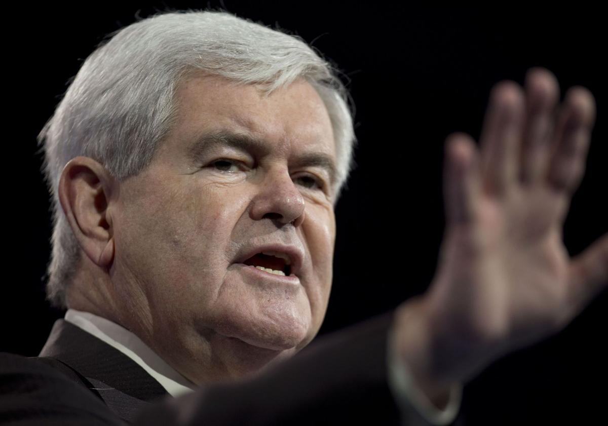 Gingrich due here on book tour