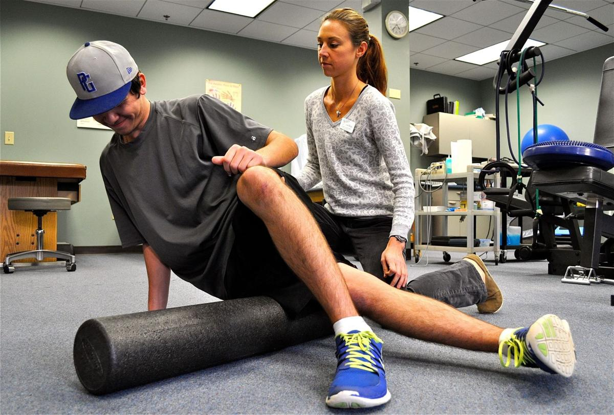Foam rolling therapy hits the mainstream