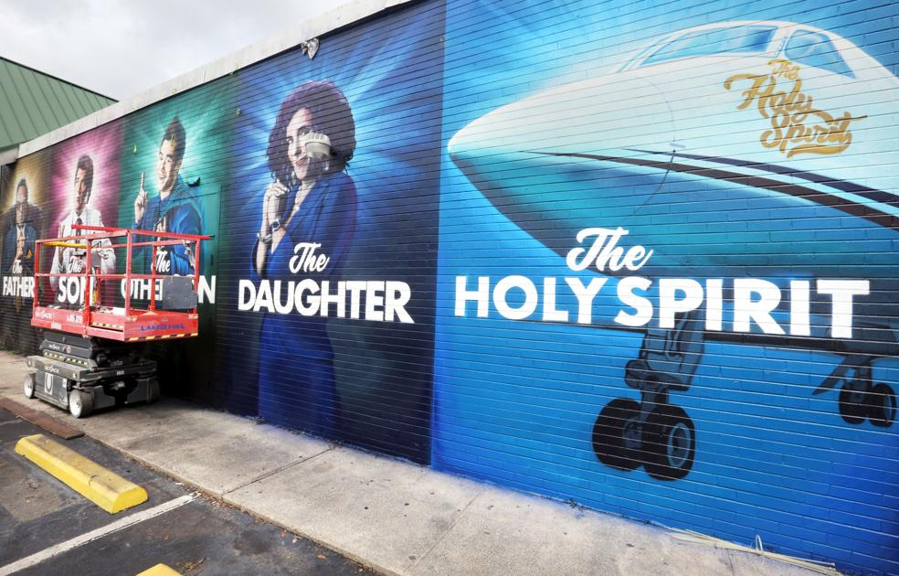 Danny McBride's HBO show 'The Righteous Gemstones' featured in Charleston mural