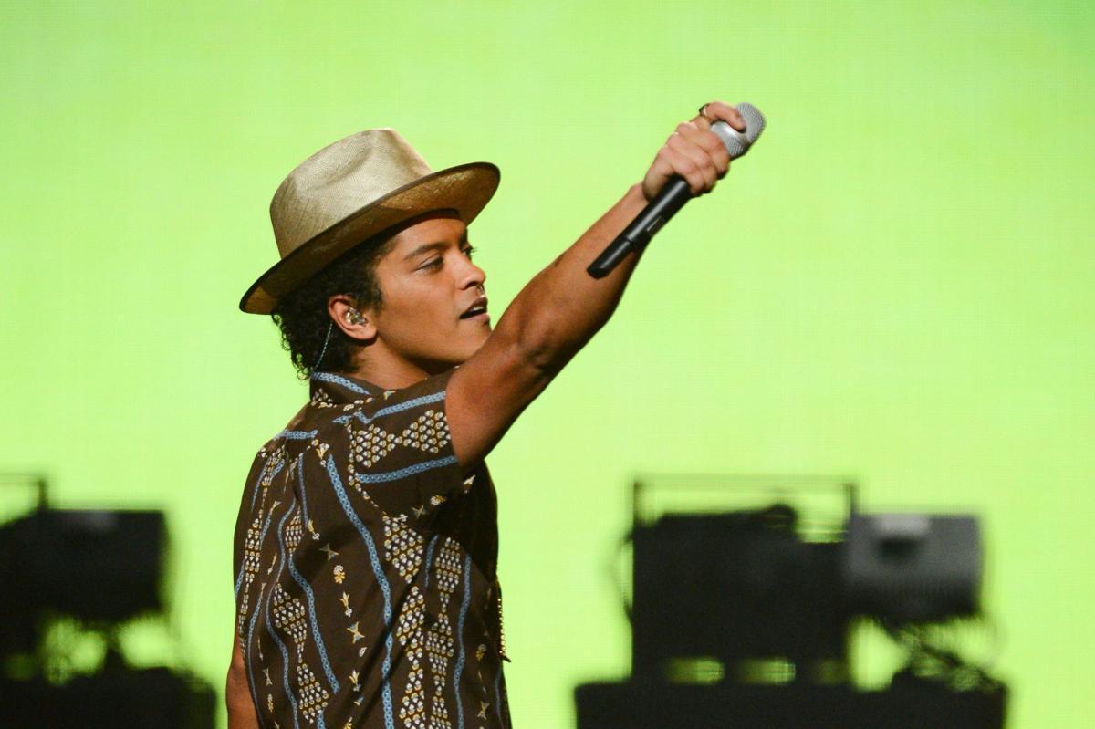Bruno Mars and Justin Timberlake shine at iHeartRadio music festival
