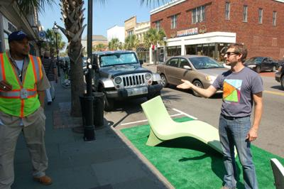 PARK(ing) Day hits the skids in Charleston