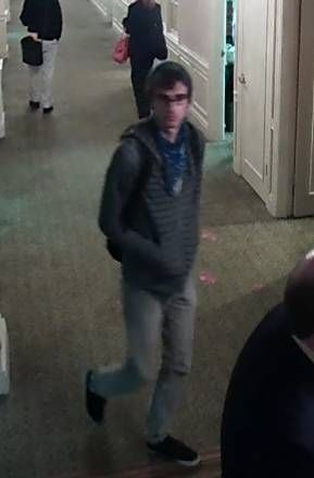 Charleston police release photos after laptop stolen from Francis Marion Hotel