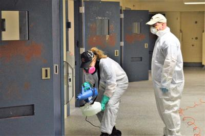 Berkeley County jail sanitized to fight COVID-19