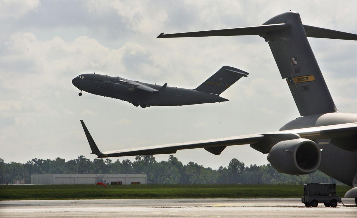 Joint Base Charleston gets its 52nd Boeing C-17 Globemaster, with one more to come