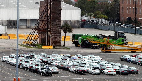 Charleston to receive fewer imports