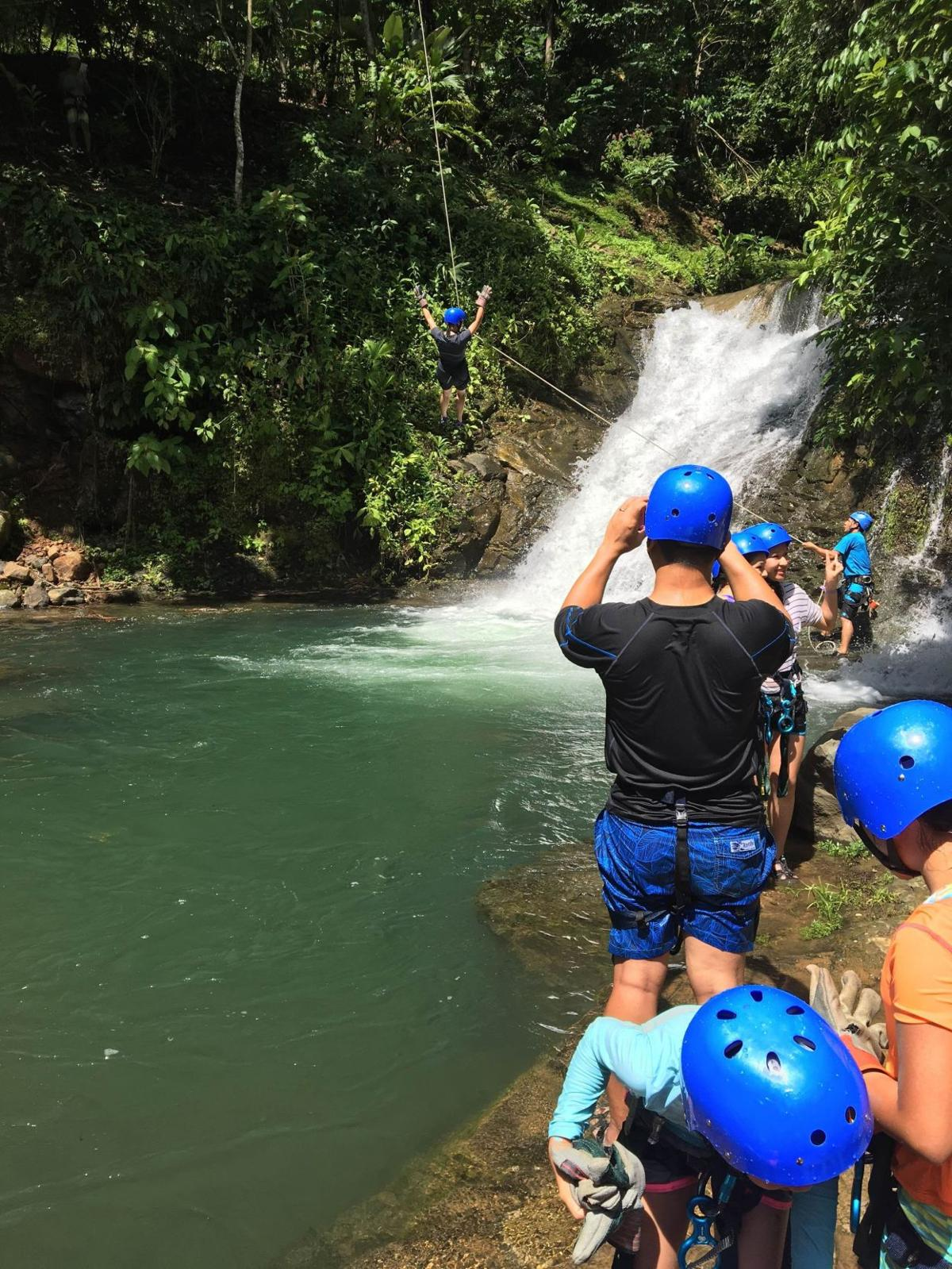 Float along in the Costa Rican hills