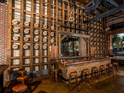 Charleston Distilling tasting room