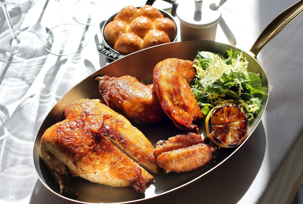 Image: Chicken for two at Henrietta's (test)