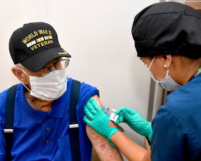 Close to 60,000 vaccines administered by VA