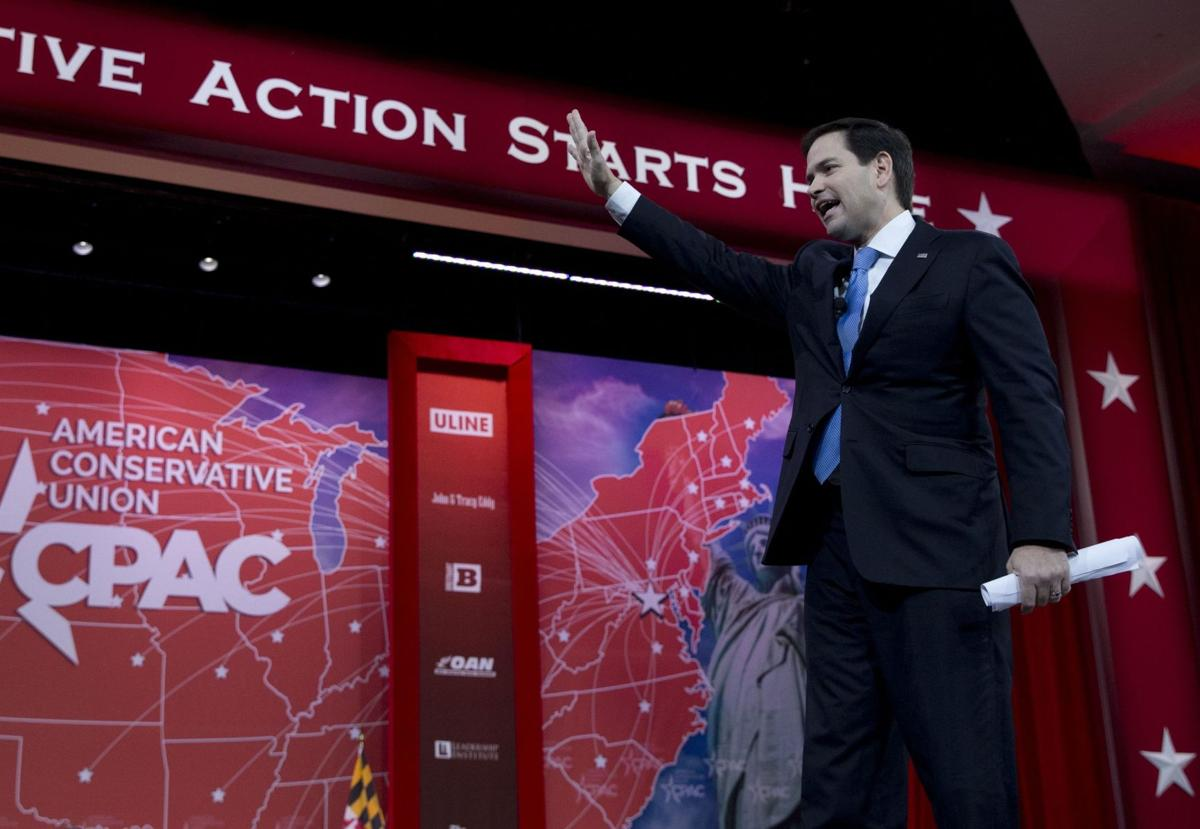 Candidates take aim at common enemy, not each other at CPAC
