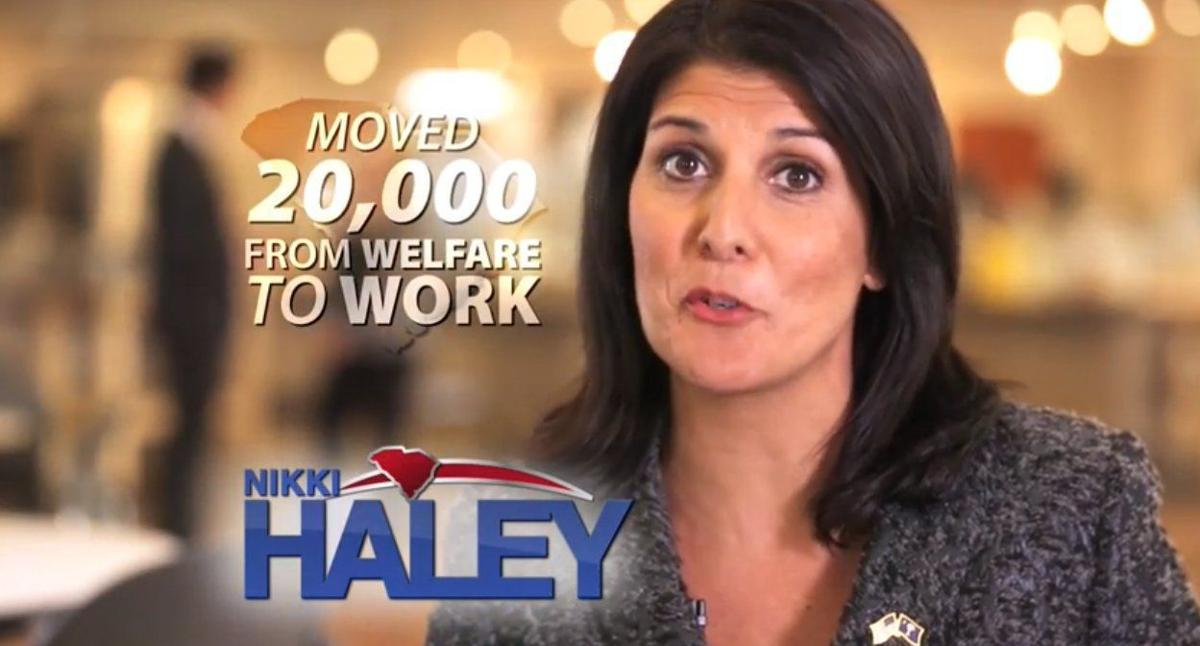 Nikki Haley's campaign touts welfare-to-work program in latest ad