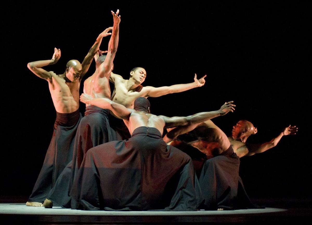 Alvin Ailey dancers return