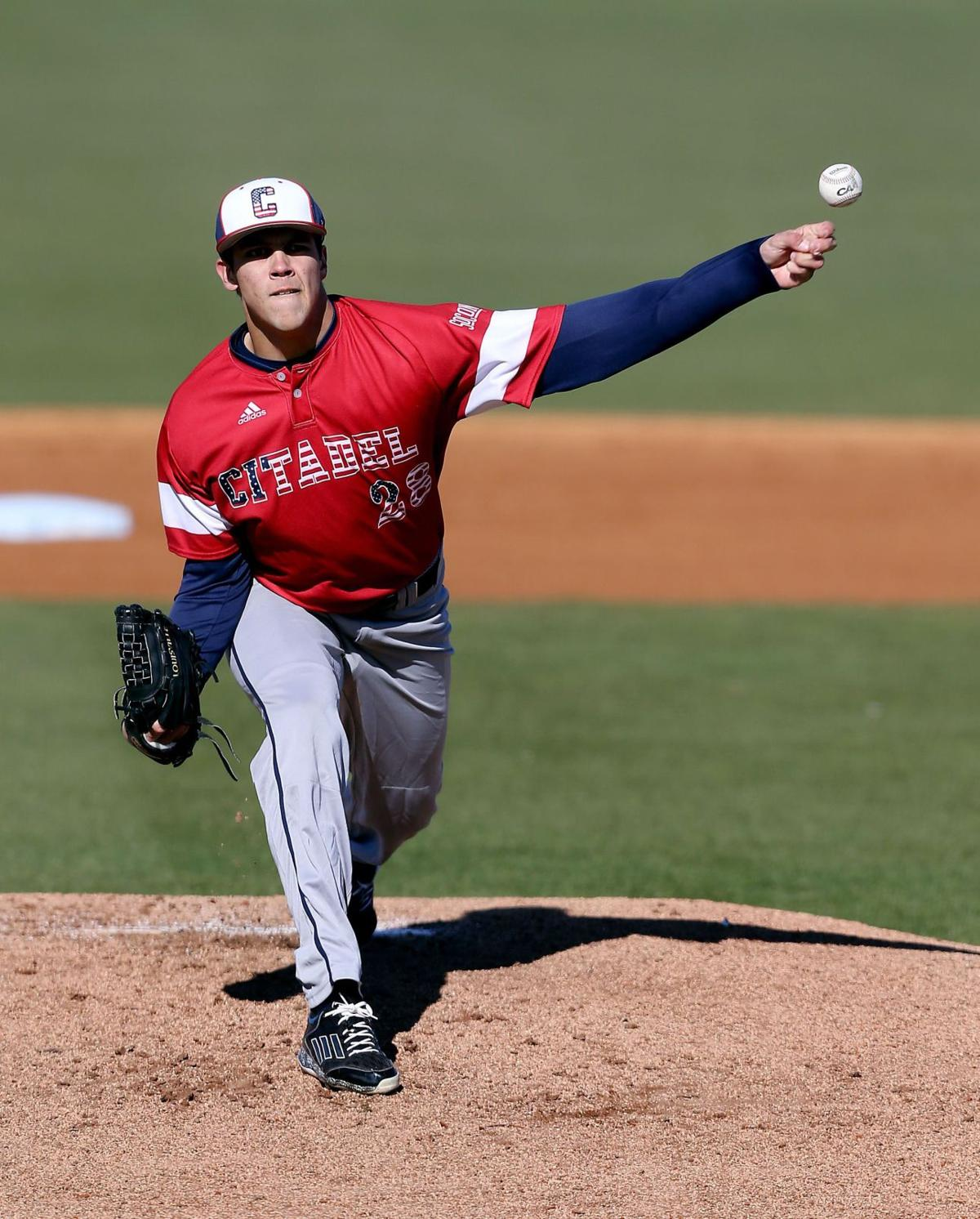 Citadel's Reeves tosses no-hitter