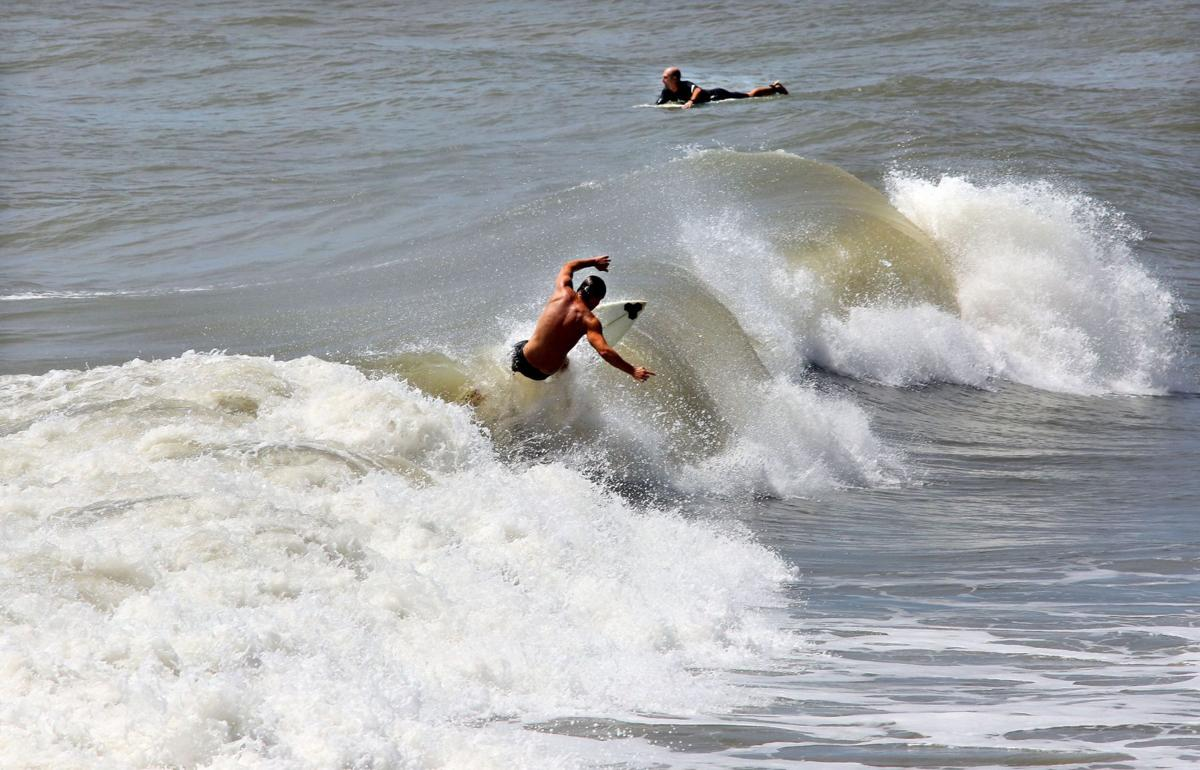 Tropical Storm Cristobal to bring only waves, wind