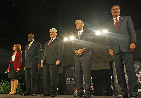 Five top GOP presidential candidates talk specifics at S.C. forum