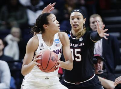 NCAA South Carolina Connecticut Basketball (copy)