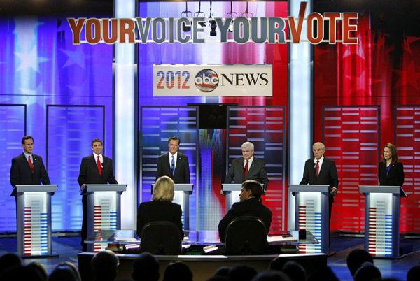 Gingrich is prime focus of rivals in Iowa debate