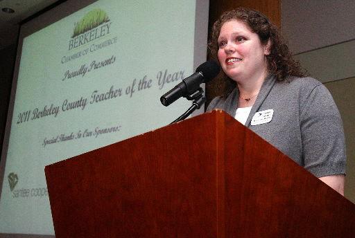 Angela Adams named Berkeley County School District's Teacher of the Year