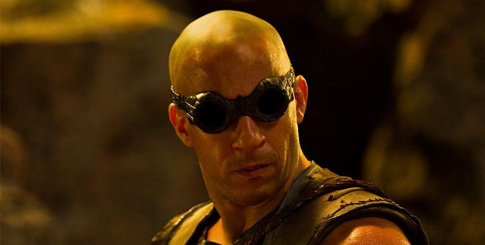 'Riddick' dishes up a sturdy Vin Diesel but lousy dialogue
