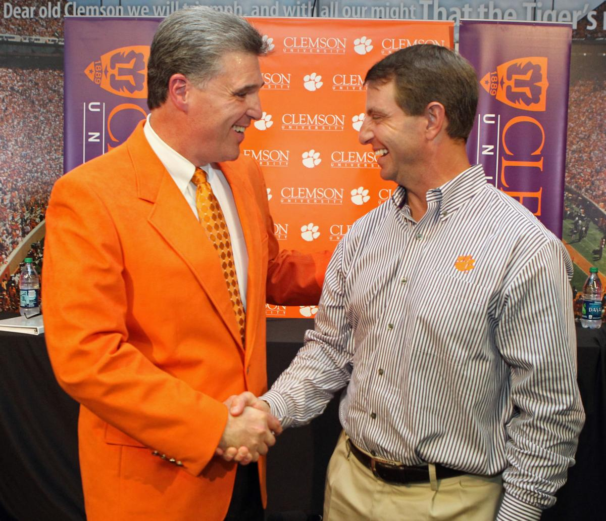 Swinney 'excited' Radakovich on playoff selection committee