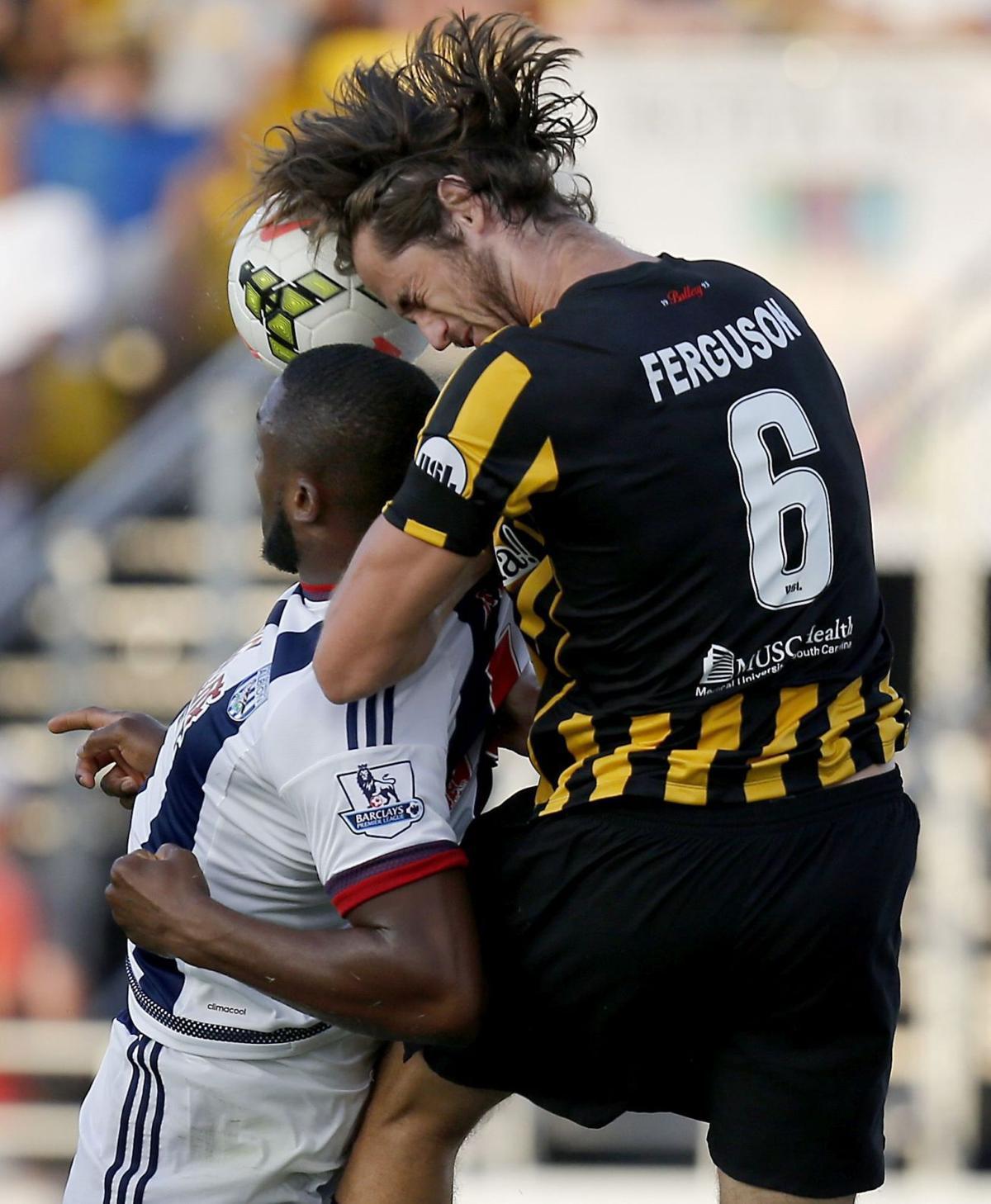 Charleston defender Shawn Ferguson making his mark with Battery