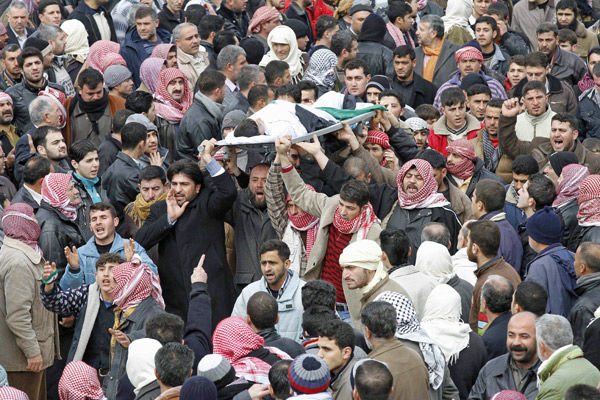 Slaughter continues in Syria