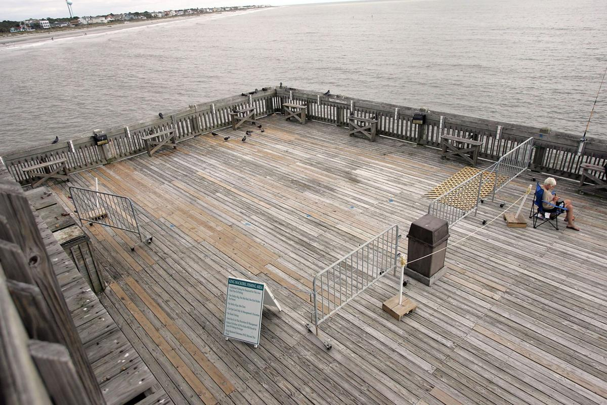 Popular spot at Folly pier closed for piling repairs