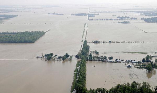Storms unleash major flooding