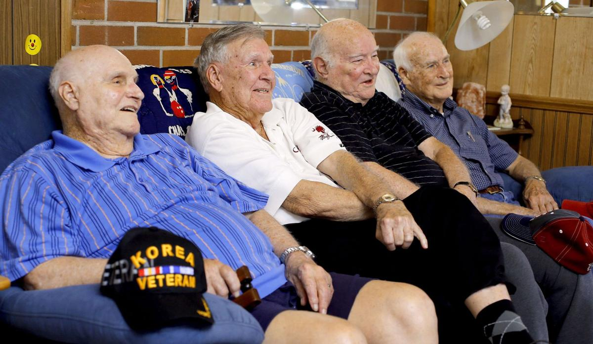 Four brothers aboard Honor Flight