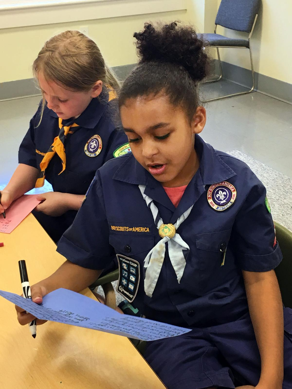 Boy Scouts in the Charleston area take first steps on co-ed