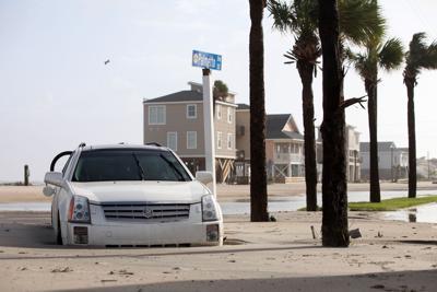 Irma Edisto Beach SUV 1