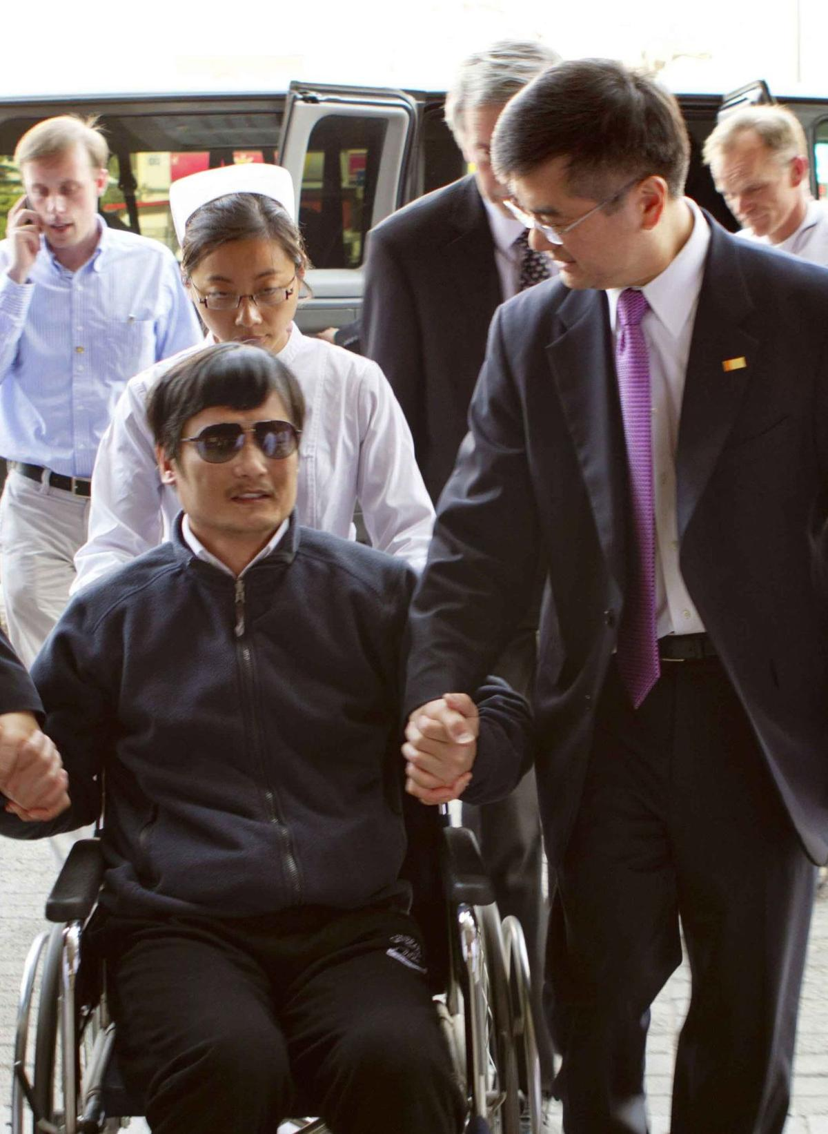 Friend: Dissident left embassy after threats