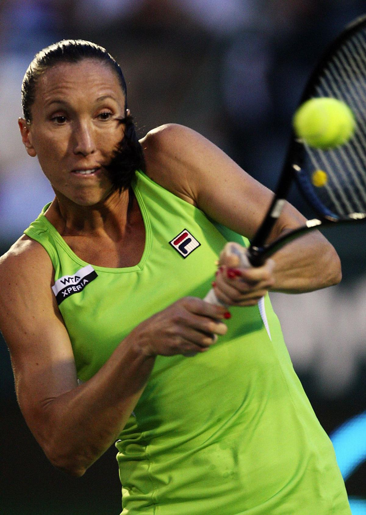 Injury forces Jankovic to withdraw