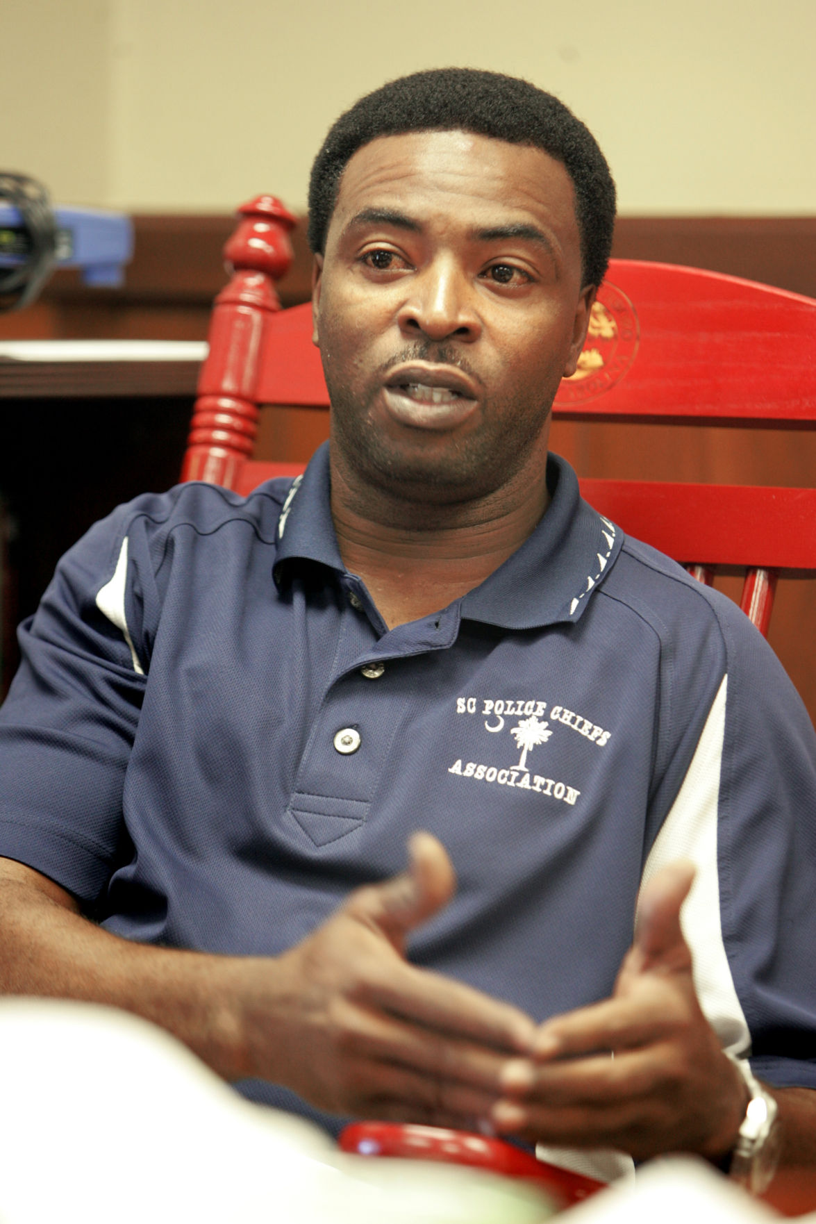 Walterboro Public Safety Chief Otis Rhodes fired today