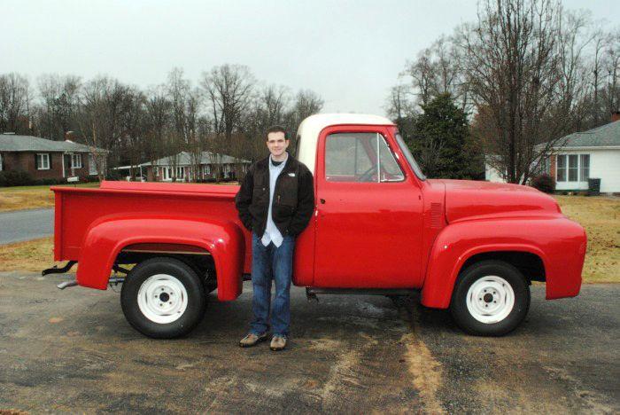 Man spends years restoring '55 truck