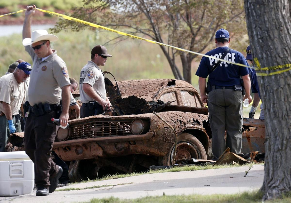 Submerged cars found in Okla. may solve decades-old cold cases